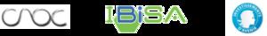 Logos CNOC IBISA et Investments for the Future-Investissements d'Avenir program